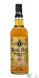 Bank Note blended Scotch whisky 43% vol.   0.70 l