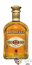Old Level 12 years old premium blended Scotch whisky 40% vol.    0.70 l