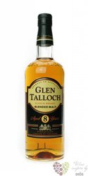 Glen Talloch 8 years old blended malt Scotch whisky 40% vol.  0.70 l
