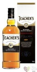 "Teacher´s "" Highland Cream "" gift box blended Scotch whisky 40% vol.  1.00 l"