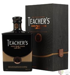 Teacher´s aged 25 years premium Scotch whisky 46% vol.  0.70 l
