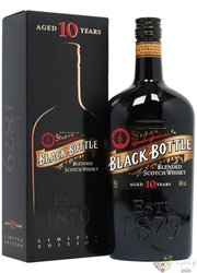 Black Bottle ltd. 10 years old blended Scotch whisky 40% vol.  0.70 l