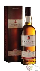 Syndicate 12 years old blended Scotch whisky Douglas Laing & Co 40% vol.  0.70 l