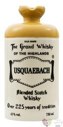 Usquaebach ltd.telease 2012 old rare Highland blended whisky 43% vol.    0.70 l