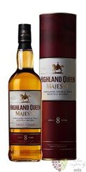 "Highland Queen "" Majesty "" 8 years old single malt Scotch whisky 40% vol. 0.70 l"
