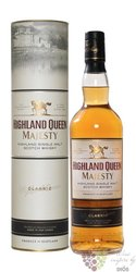 "Highland Queen "" Majesty "" single malt Scotch whisky 40% vol. 0.70 l"