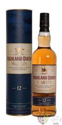 "Highland Queen "" Majesty "" 12 years old single malt Scotch whisky 40% vol. 0.70l"