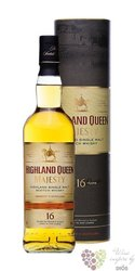 "Highland Queen "" Majesty "" 16 years old single malt Scotch whisky 40% vol. 0.70l"