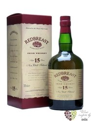 RedBreast 15 years old pure pot still non Chillfiltered Irish whiskey 46% vol. 0.70 l