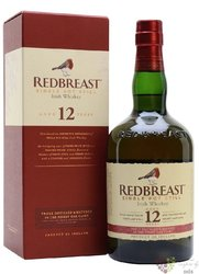 RedBreast 12 years old pure pot still Irish whiskey 40% vol.  0.70 l