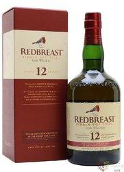 RedBreast 12 years old pure pot still Irish whiskey 40% vol.    0.70 l