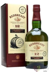 "RedBreast "" Cask strength edition "" aged 12 years pure pot still Irish whiskey 57.2% vol.    0.70 l"