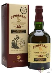 "RedBreast "" Cask strength edition "" aged 12 years Irish whiskey 58.2% vol.  0.70 l"