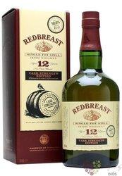 "RedBreast "" Cask strength edition "" aged 12 years Irish whiskey 56.2% vol.  0.70 l"