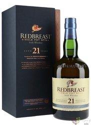 RedBreast aged 21 years pure pot still Irish whiskey 46% vol.  0.70 l