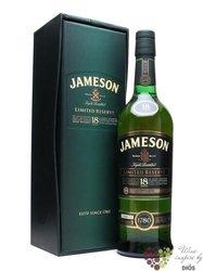 Jameson 18y            gB 40%0.70l