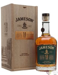 Jameson aged 18 years 2018 release Irish whiskey 40% vol.  0.70 l