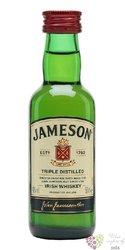 Jameson triple distilled blended Irish whiskey 40% vol.    0.05 l