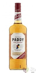 Paddy old Irish blended whiskey 40% vol.    1.00 l