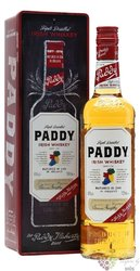 Paddy metal box ed.2018 old Irish blended whiskey 40% vol.  0.70 l