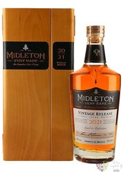 "Midleton 2015 "" Very rare "" premium pure pot still Irish whiskey 40% vol.  0.70l"