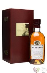 Midleton 25 years old premium pure pot still Irish whiskey 40% vol.   0.70 l
