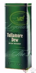Tullamore Dew metal box legendary Irish blended whiskey 40% vol.   0.70 l