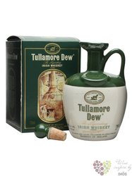 Tullamore Dew ceramic decanter legendary Irish blended whiskey 40% vol.    0.70l