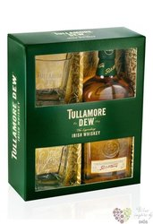 Tullamore Dew 2 glass pack Irish whiskey 40% vol.   0.70 l