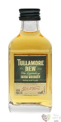 Tullamore Dew legendary Irish blended whiskey 40% vol.    0.05 l