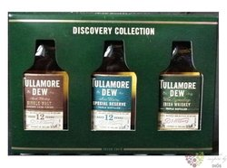 "Tullamore Dew ""  Discovery collection "" Irish whiskey 3 x 0.05 l"