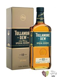 "Tullamore Dew "" Special reserve "" aged 12 years premium Irish whiskey 40% vol. 1.00 l"