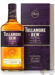 "Tullamore Dew "" Special reserve "" aged 12 years premium Irish whiskey 40% vol.0.70 l"