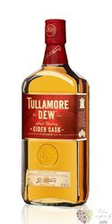 "Tullamore Dew "" Cider cask finish "" premium Irish whiskey 40% vol.   0.70 l"