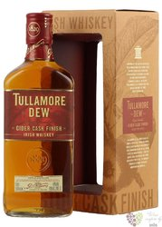 "Tullamore Dew "" Cider cask finish "" premium Irish whiskey 40% vol.   0.50 l"