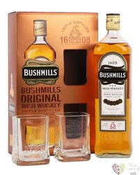 "Bushmills "" Original "" 2glass pack blended Irish whiskey 40% vol.  1.00 l"