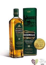 "Bushmills "" Two woods "" aged 10 years single malt Irish whiskey 40% vol.  1.00 l"