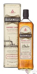 "Bushmills Steamship I. "" Sherry cask "" single malt Irish whiskey 40%vol.  1.00 l"