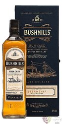 "Bushmills Steamship IV. "" Rum cask "" single malt Irish whiskey 40% vol.  0.70 l"