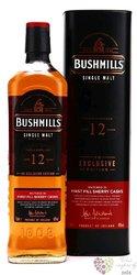 Bushmills 12y Sherry   GT 40%1.00l
