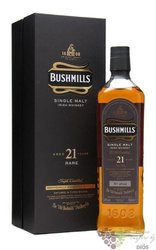 "Bushmills rare 2013 "" Three woods "" aged 21 years single malt Irish whiskey 40%vol.  0.70 l"