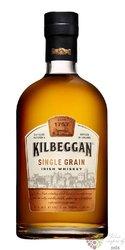Kilbeggan single grain Irish whiskey 40% vol.  0.70 l