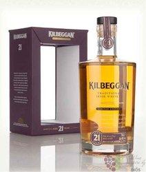 Kilbeggan 21 years old finest Irish blended whiskey 40% vol.    0.70 l
