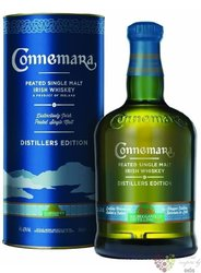 "Connemara "" Distillers edition "" single malt Irish whiskey 43% vol.     0.70 l"