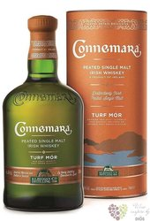 "Connemara "" Turf Mór "" small batch peated Irish whiskey 46% vol.  0.70 l"