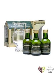 "Connemara "" 12&C&P "" collection Irish whiskey by Cooley distillery     3 x 0.05l"