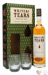 Writers tears 2glass pack pot still Irish whiskey 40% vol.    0.70 l