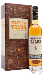 "Writers tears "" Cask strength edition 2018 "" pot still Irish whiskey 53% vol. 0.70 l"