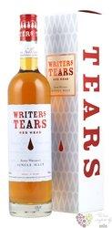 """Writers tears """" Red head """" single malt Irish whiskey 46% vol.  0.70 l"""