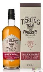 "Teeling collaboration "" Pinot Noir cask "" small batch Irish whiskey 46% vol.  0.70 l"